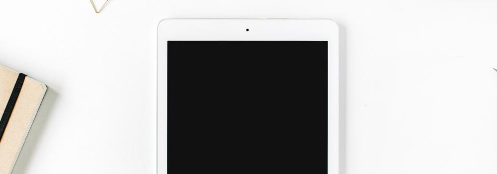iPad aanbiedingen 2020 op tafel